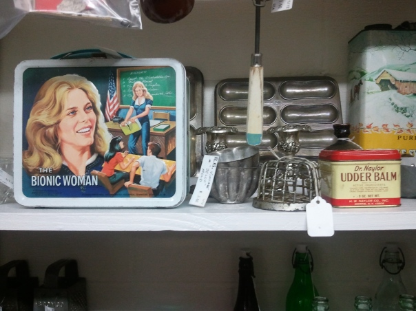The Bionic Woman Antique Lunchbox, www.ishism.com