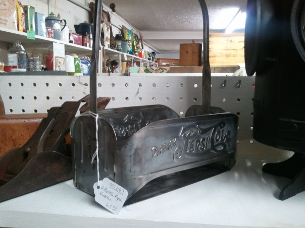 Antique Pepsi Bottle Carrier