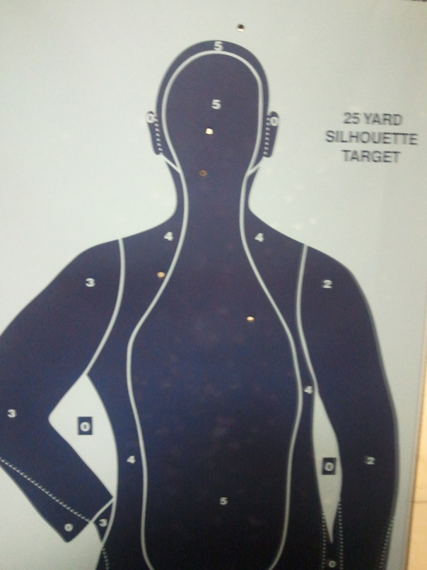 First Five Shots with a Taurus .38 Special, www.ishism.com