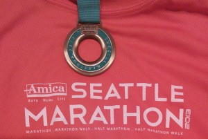 Amica Seattle Marathon 2013