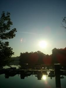 Sunrise: Kentucky Fishing