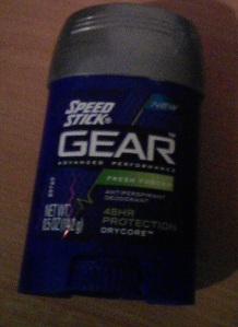 Speed Stick Gear 48 Hour Protection